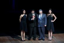MULTIDEPORTES Diego Elías fue galardonado como el mejor del 2014