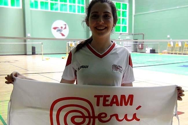 Badminton Daniela-Macías---Team-Perú