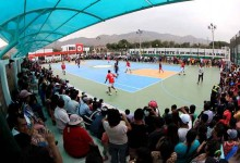 [MULTIDEPORTIVO] IPD inauguró polideportivo en Los Olivos