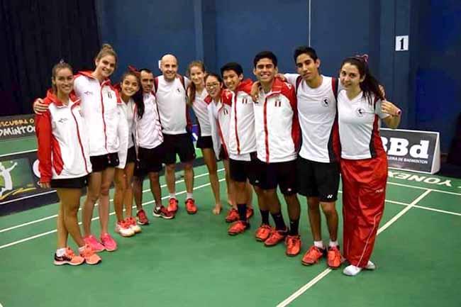 Podio Peruano en Panamericano de Badminton
