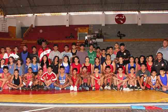 Panamericano de Lucha Seleccion Peru