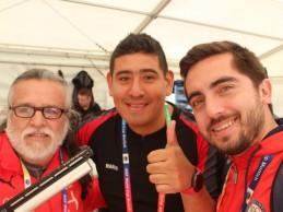 [RIO 2016] Carrillo y Schmidt fueron los primeros en llegar a la Villa