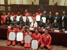 [RIO 2016] Congreso aplaudió y felicitó a deportistas olímpicos
