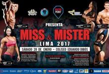 [FISICOCULTURISMO] Mister y Miss Lima 2017 saldrá este sábado