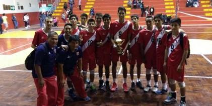 [VÓLEY] Selección masculina consiguió un título internacional