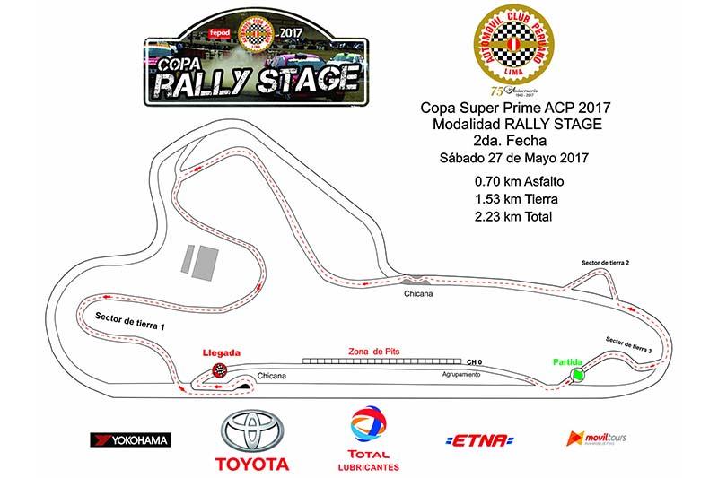 Mapa Rally Stage 2da Fecha