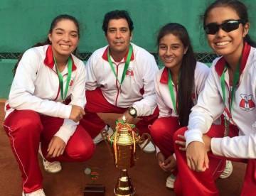 [TENIS] Peruanas logran medalla de oro en el Sudamericano Sub 14