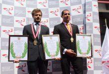 [OLIMPISMO] Eduardo Linares y Alexander Zimmermann reciben los Laureles Deportivos