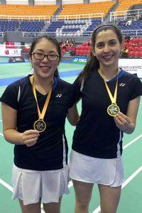 Dánica Nishimura, Daniela Macías y Daniel La Torre ganaron medallas para el Perú en el VIII International Mexicano.