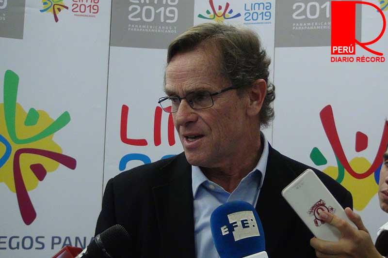 Carlos Neuhaus, presidente de COPAL, anunció el consorcio que estará a cargo de la construcción de la Villa Panamericana.