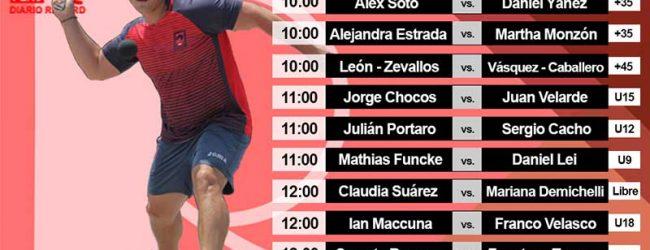 [FRONTÓN] Martínez y Velásquez van mañana por el título del 2017
