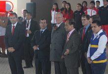 [LIMA 2019] Presidente Kuczynski, junto a Ilic y Neuhaus realizaron ceremonia en futura Villa de Atletas