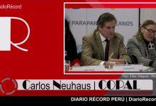 """[LIMA 2019] Neuhaus: """"En los próximos días se sabrá qué empresa que construirá la Villa"""""""