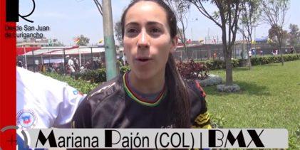 """[BMX] Mariana Pajón (COL): """"Estoy feliz de estar en Lima en el Latinoamericano"""""""