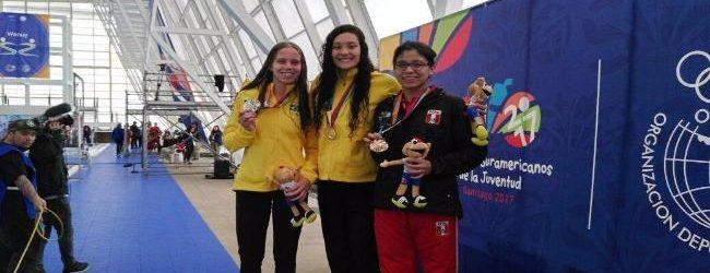 [NATACIÓN] Nacionales suman cuatro medallas mas en los Suramericanos