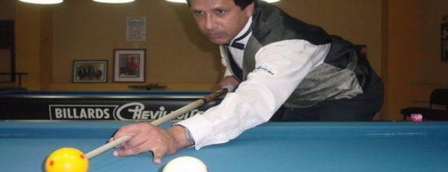 [BILLAR] Guido Saco se prepara para el Mundial en Bolivia