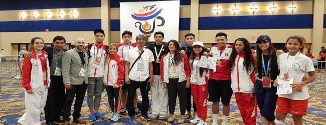 [TAEKWONDO] Selección logra 4 medallas de bronce