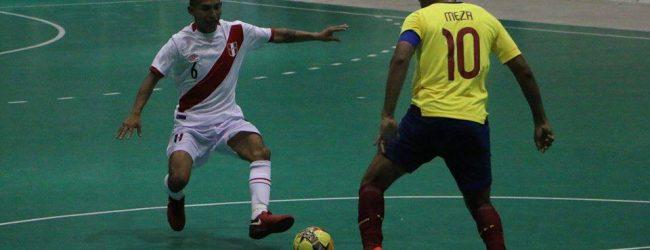 [SANTA MARTA 2017] Perú cierra los Bolivarianos con una de bronce en futsal