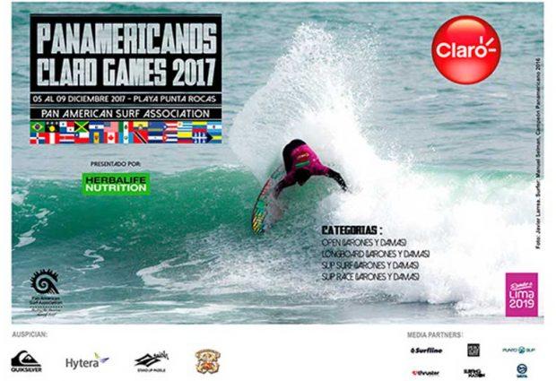 [SURF] Una histórica edición de los XIII Juegos Panamericanos de Surf se realizará en Lima