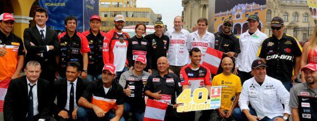 [DAKAR 2018] Serán 24 los pilotos y copilotos peruanos que participarán en el Dakar
