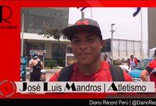 """[ATLETISMO] José Luis Mandros: """"El mejor momento del 2017 fue ganar el oro en el Sudamericano U20"""""""