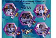 [TAEKWONDO] Marcela Castillo es nominada como la mejor competidora de poomsae