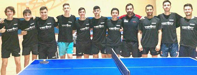 [TENIS DE MESA] Carlos Fernández realizó base de entrenamiento en España