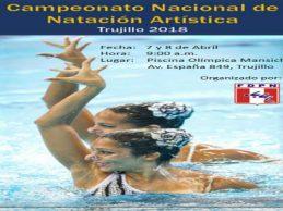 [NATACIÓN] Nacional de natación artística se realizará en Trujillo