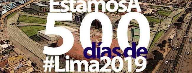 #A500Días| Hoy estamos a 500 días de los Juegos Panamericanos Lima 2019