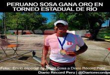 [REMO] Ángel Sosa gana medalla de oro y plata en Torneo Estadual en Brasil