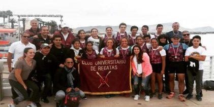 [REMO] Club Universitario de Regatas arrasa en el Nacional Juvenil