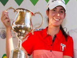 [GOLF] Micaela Farah se corona campeona del Torneo Amateur de Brasil