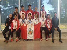 [TAEKWONDO] Selección logró cinco medallas de bronce en Panamericano Absoluto