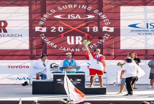 [SURF] Mesinas logra la medalla de bronce en el Mundial ISA en Japón