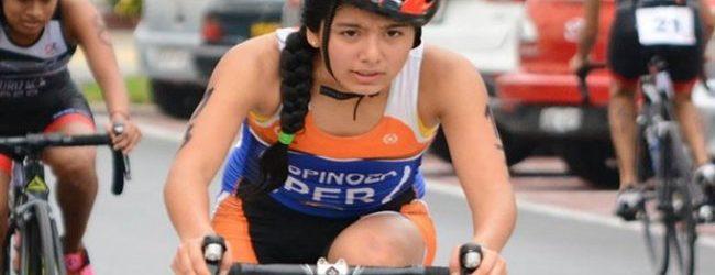 [BUENOS AIRES 2018] Naomi Espinoza representará al Perú en triatlón