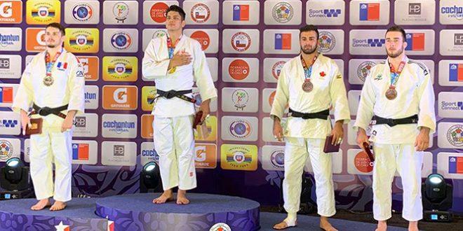 [JUDO] Nacionales obtienen cuatro medallas en Open Panamericano de Santiago