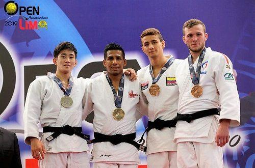 [JUDO] Juan Manuel Postigos logra la de oro en Open Panamericano