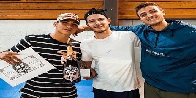 [SKATEBOARDING] Ángelo Caro logra bronce en certamen de Francia