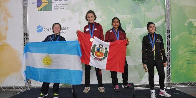 [ESGRIMA] Menores sumaron medallas en Sudamericano celebrado en Brasil