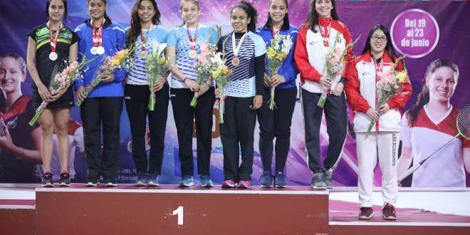 [BÁDMINTON] Nacionales subieron al podio del Perú International 2019