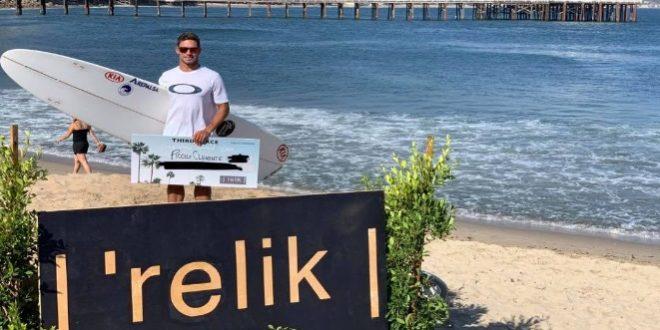 [SURF] Piccolo Clemente alcanzó el tercer lugar en certamen disputado en California