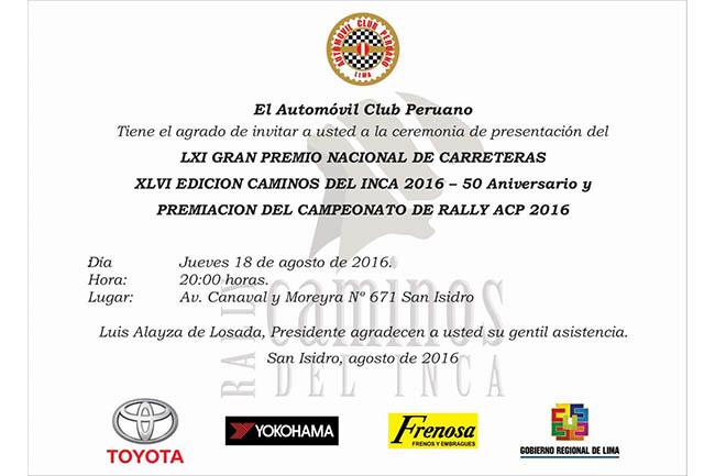 Invitación presentación CDI2016 y Premiación Camp. Rally ACP2016 (1)
