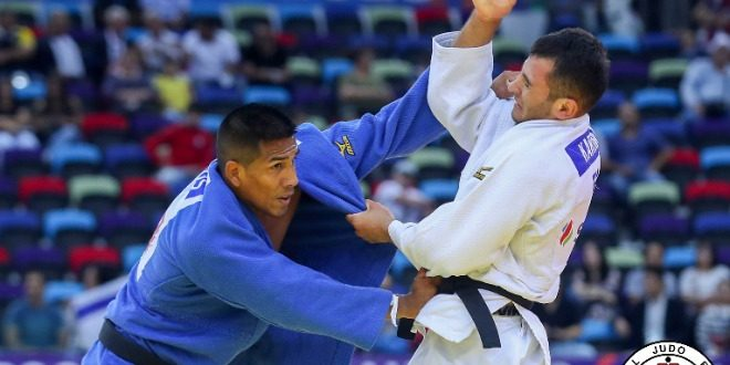 [JUDO] Juan Postigos se ubica entre los siete mejores de los -66kg en Grand Prix en Israel