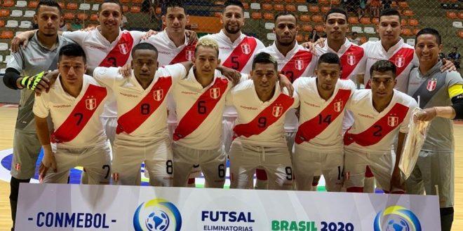 Selección peruana de futsal.