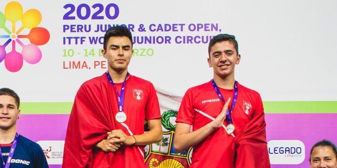 [TENISDEMESA] Medalla dorada para el Perú en el Circuito Mundial Juvenil