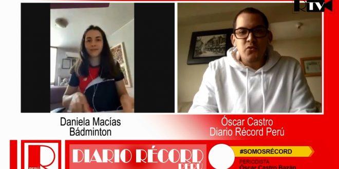 [RÉCORDTV] La postergación de los Juegos no detiene el ímpetu de Daniela Macías