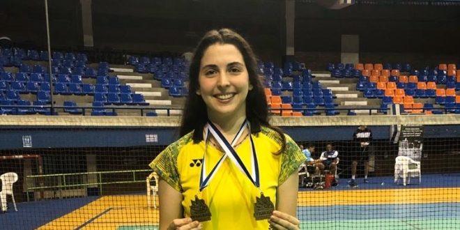 [BÁDMINTON] Daniela Macías: «Hubiera querido que se cierre la clasificación, pero ha sido lo más justo»