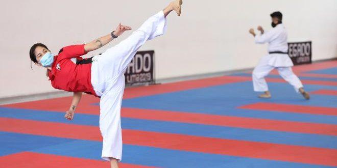 [REACTIVACIÓN] Karate y lucha retornan a los entrenamientos en Videna