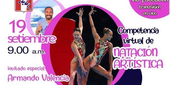 [NATACIÓN] Este sábado arranca la competencia Virtual de Natación Artística 2020