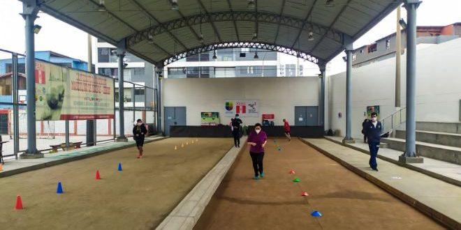 [BOCHAS] Grupo priorizado de deportivas retornaron a los entrenamientos